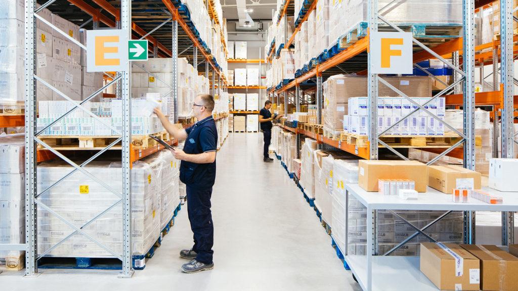 Salvia Farmaceutici - servizi di logistica nel settore del farmaco